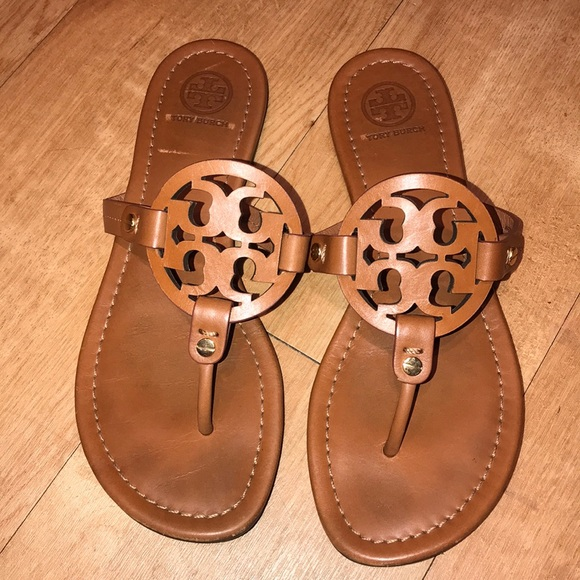 Tory Burch Shoes - Tory Burch Miller Brown Sandals